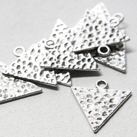 20pcs Oxidized Silver Tone Base Metal Charms-Bird 18x16mm 16481Y-B-488