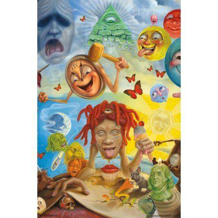 Trippie Redd Art Walmart Com In 2021 Album Cover Art Rap Album Covers Trippie Redd