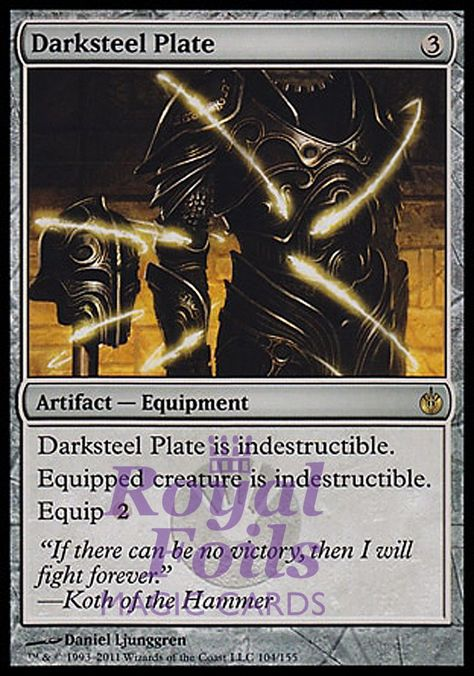Darksteel The Gathering MTG Details about  /Echoing Decay LP FOIL Magic