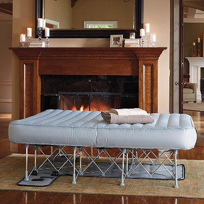 Lightweight Inflatable Ez Bed Air Mattress With Frame Pinterest