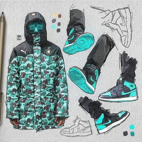 adidas superstar illustration by yula | De moda, Dibujos bonitos