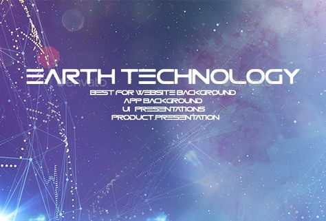 Earth Technology Backgrounds