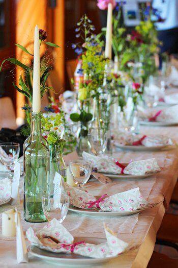 Hochzeitstischdeko Selber Machen Hochzeitstischdeko Hochzeit
