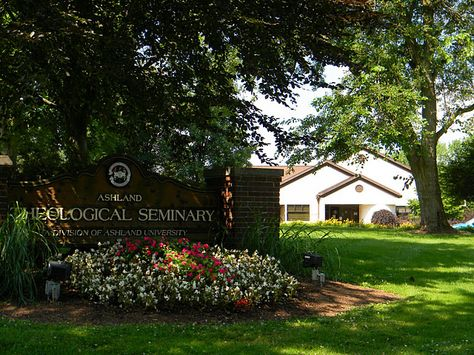 Ashland Theological Seminary - spent more years than I'd like to admit getting my MDiv here. Place where I learned so much, especially out of the classroom.