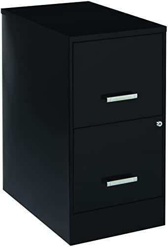 New Office Dimensions 22 Deep 2 Drawer Metal Soho Vertical File Cabinet Inch Black Online Alyssafavour In 2020 Filing Cabinet Black Furniture Signature Design Ashley