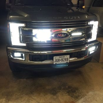 2017 Ford F250 F350 Super Duty Led Front Turn Signal Bulbs