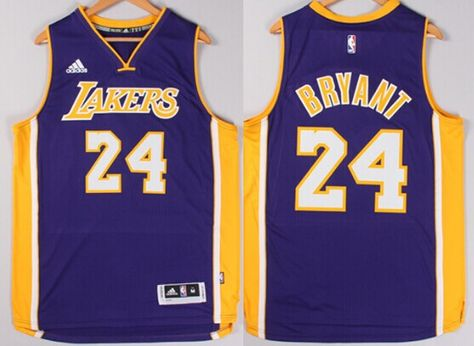 87d2301d358 Los Angeles Lakers  24 Kobe Bryant Revolution 30 Swingman 2014 New Purple  Jersey