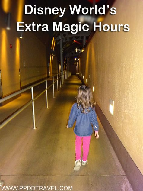 Learn about taking advantage of Disney World's Extra Magic Hours!