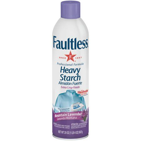Faultlessa Mountain Lavender Heavy Starch 20 Oz Can Canning