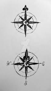 Image result for compass tattoo