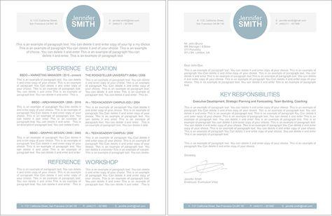 Resume, #CoverLetter #ResumeTemplate - Premium line of Resume - resume templates apple