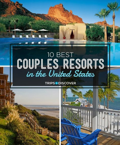 10 Best Couples Resorts in the United States If youre looking for a romantic getaway that includes a stay at a spectacular resort youre sure to find an ideal pick among this list of romantic resorts in the United States. Romantic Resorts, Romantic Vacations, Romantic Travel, Romantic Weekend Getaways, Couples Weekend Getaway Ideas, Vacations In The Us, Dream Vacations, Best Vacations For Couples, Family Vacations