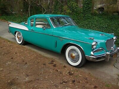 1958 Studebaker Silver Hawk Coupe Ebay Studebaker Classic Car