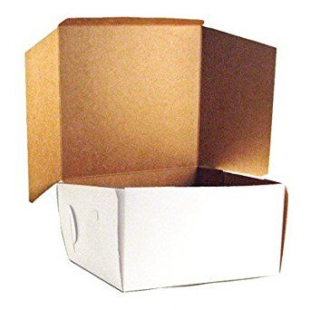 White Cake Box 10 X 10 X 5 1 2 100 Ct Review Box Cake White Cake Decorating Tools