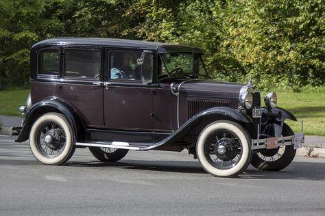 1927/31 Ford Model A 4-Door Sedan 3.3L 4-Cylinder L-head Engine (Stein Olsen)
