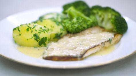 Eén - Dagelijkse kost - Steenbolk met broccoli, peterselieaardappelen en citroenboter