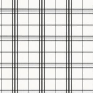 Norwall Kitchen Plaid Vinyl Strippable Roll Wallpaper Covers 56 Sq Ft Kv27425 The Home Depot In 2020 Plaid Wallpaper Black And White Wallpaper Kitchen Plaid Wallpaper