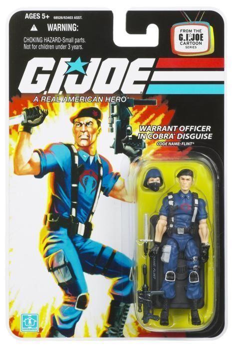 2008 GI Joe 25th Anniversary Flint in Disguise Brand New Mint on CARD MOC!