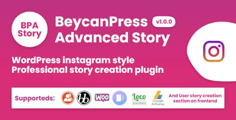 BeycanPress Advanced Story — Creating stories in WordPress instagram style   Stylelib