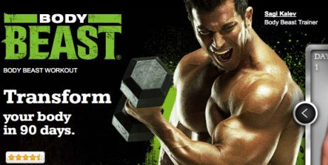 Body Beast Burn Fat and Build Muscle with Beachbody Workout