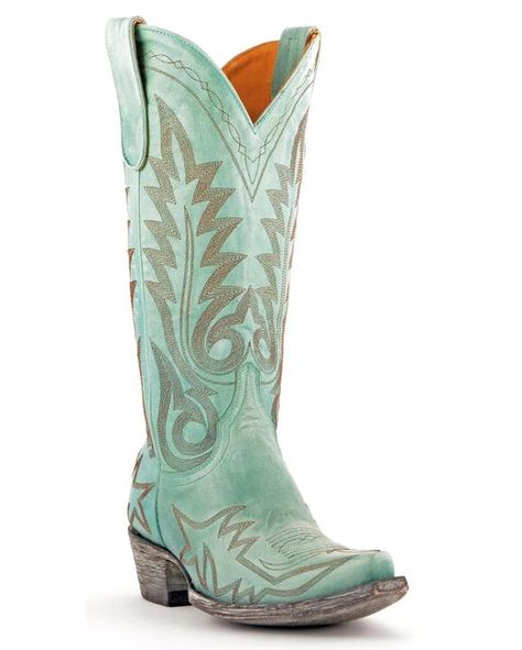 Old Gringo Women's Nevada Cowgirl Boots - Aqua  http://www.countryoutfitter.com/products/47118-womens-nevada-boot