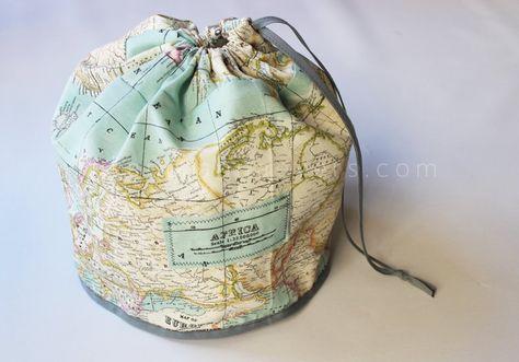 Diy Draw String Bag Free Step By Sewing Tutorial