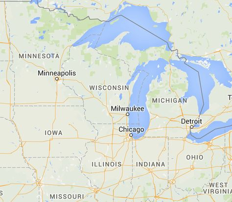 Wisconsin, United States Bed Bug Registry Map – Bed Bug ...