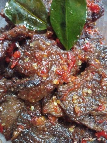 Resep Daging Sapi Dendeng Balado Oleh Rinie Soelis Resep Resep Daging Memasak Resep Masakan