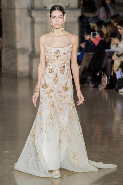 Georges Hobeika Couture, Spring 2017 - We'd Kill to Wear These Couture Dresses Down the Aisle - Photos Source by Umybrowneyedgir dresses Couture Mode, Style Couture, Couture Fashion, Runway Fashion, Paris Fashion, Punk Fashion, Lolita Fashion, Georges Hobeika, Couture Dresses