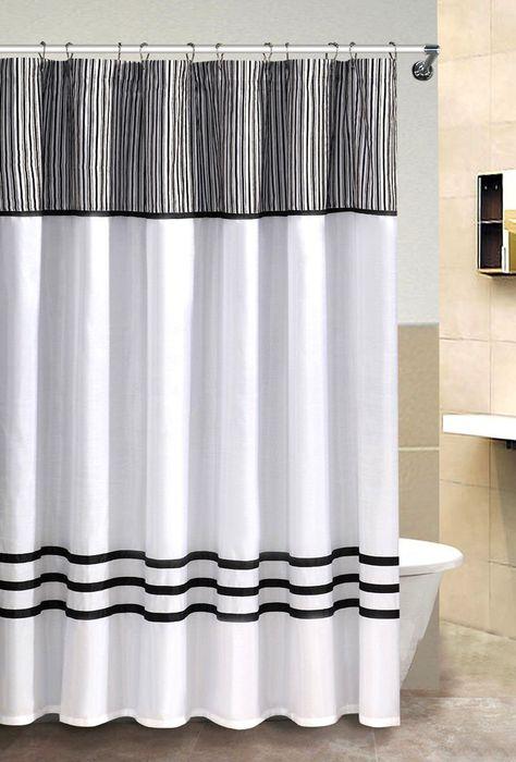 Taffeta Velvet Fabric Shower Curtain By Victoria Classics