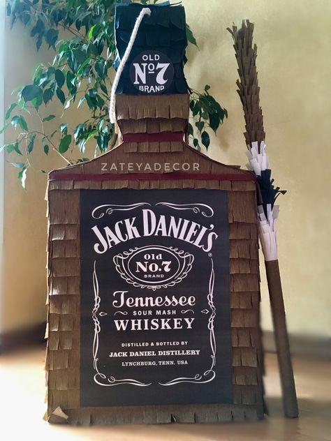 Piñata whiskey/jack Daniels
