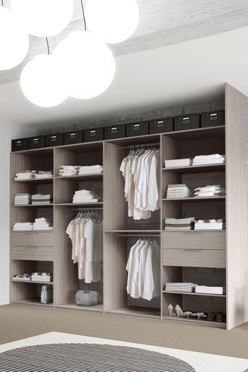 41 meilleures images du tableau Placards chambre | Bedroom closets ...