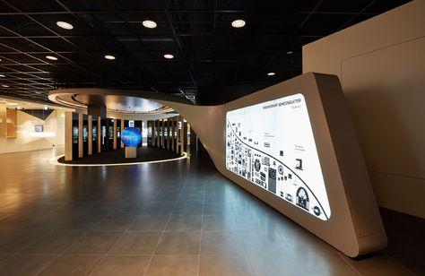 Hall of Innovation: Innovation leaf, highlighting Semiconductors exhibition.