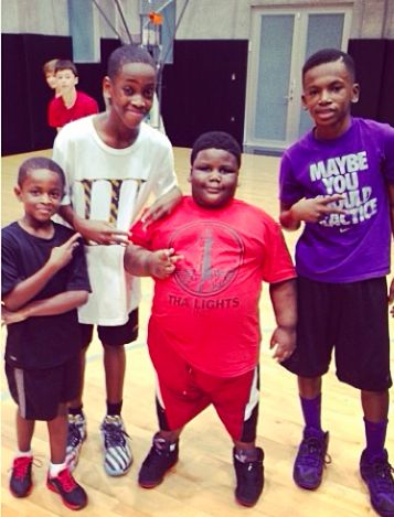 Dwyane Wade's Son Kicks Off His Birthday With Lil Terio -    | NBA