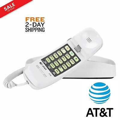 Att Home Desk Corded Wall Mount Landline Phone Telephone At T 210