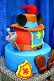 Resultado de imagen de the three musketeers cake