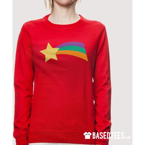 Mabel Shooting Star Sweatshirt Pink Or Red 30 Liked On