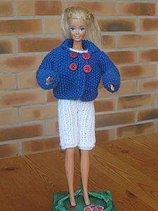 Tenue Marine Pour Barbie Tenue Marine Barbie Et Tricot Barbie
