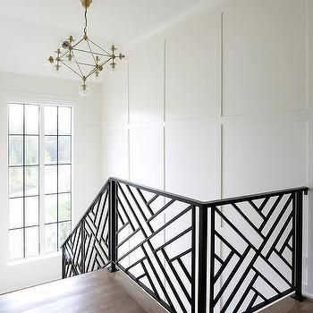 interior stair railing designs ideas and decors most.htm black fretwork lattice staircase railing  with images  stair  fretwork lattice staircase railing