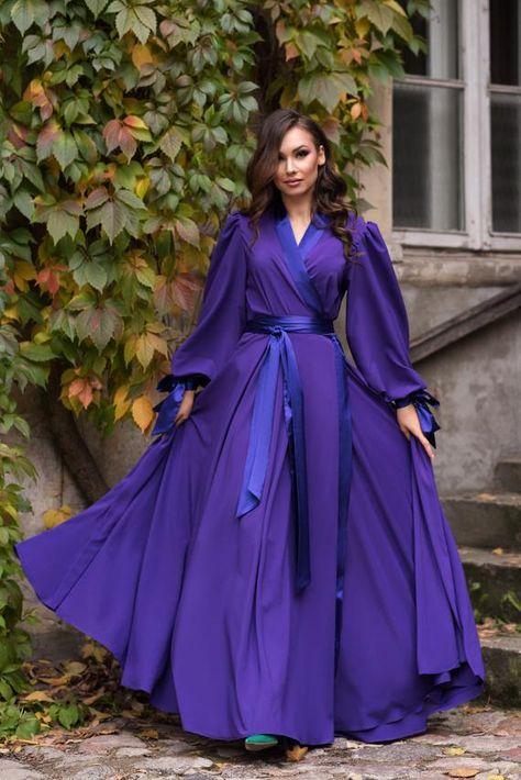 Muslim Fashion, Modest Fashion, Hijab Fashion, Fashion Dresses, Kimono Noir, Silk Kimono Robe, Dress Robes, Hijab Dress, Elegant Dresses