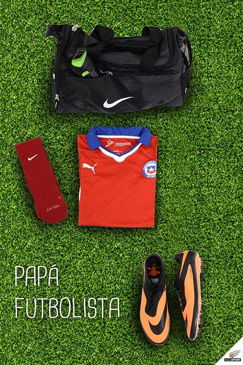 Bolso, Nike - Camiseta de Chile, 100% Fútbol - Calcetines ...