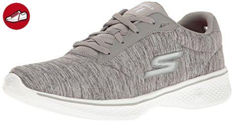 Go Walk 4-Elect, Chaussures de Running Homme, Noir (Black/Gray), 40 EUSkechers