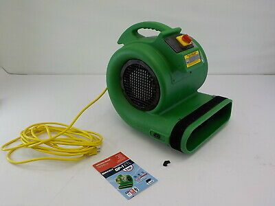 Sponsored Ebay B Air Grizzly Gp 1 1 Hp Grizzly Floor Air Mover Damage Restoration Blower Fans Ebay