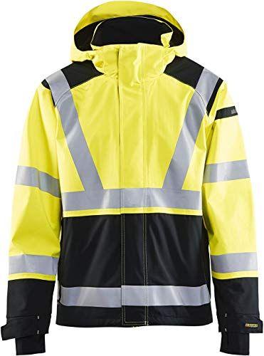 New Blaklader Hi Vis Premium Shell Jacket Mens Coats Jacket 159 95 Popularbestsellers Leather Jacket Men Style Mens Clothing Styles Men S Coats And Jackets
