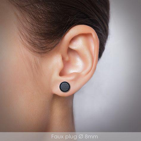 Piercing Plug Oreille Acier Chirurgical