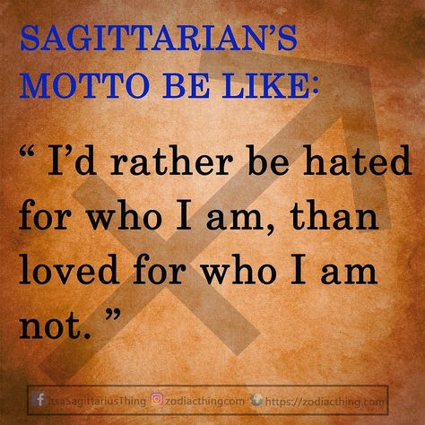 sagittariusteam Stay true to themselves!...