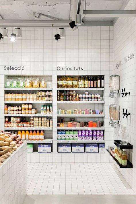 Casa Nostra Fruit Store In Barcelona Diseno De Supermercado
