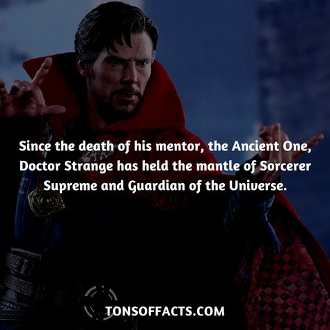 25 Interesting And Bizarre Facts About Doctor Strange - Tons Of Facts