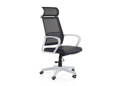 Chaise De Bureau Fauteuil Design Noir Blanc Leader Chaise Bureau Bureau Chaise