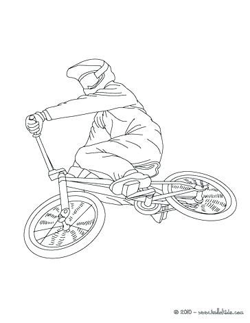 Image Result For Boy Bicycle Free Coloring Pages For Adults Coloriage Pochoir Silhouette Dessin